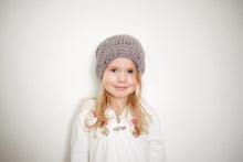 Morgan Slouchy Beanie in Gray