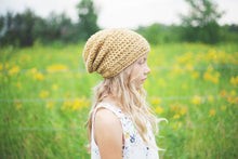 Morgan Slouchy Beanie in Yellow