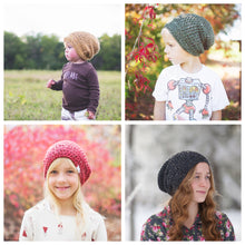 Morgan Slouchy Beanie in Wine