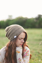 Reese Slouchy Hat in Camel