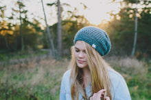 Morgan Slouchy Beanie Hat in Jacquard