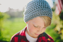Reese Slouchy Hat in Marble