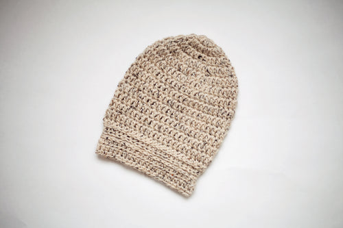 Morgan Slouchy Beanie in Oatmeal