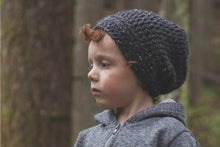 Morgan Beanie in Charcoal