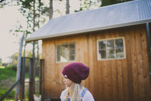Morgan Slouchy Hat in Wine