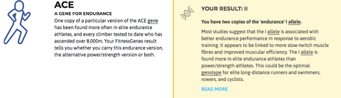 My actual result...maybe that's why I love signing up for triathlons