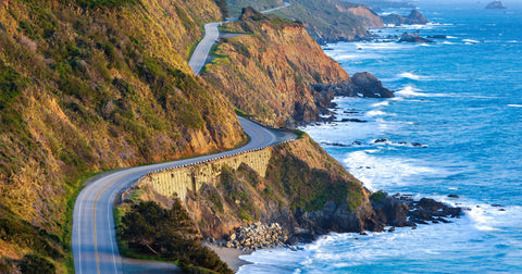 Pacific Coast Highway, San Luis Obispo to Monterey, California