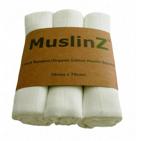 Muslinz Organic Cotton and Bamboo