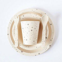 Molly & Moo Constellation Bamboo Dinnerwear