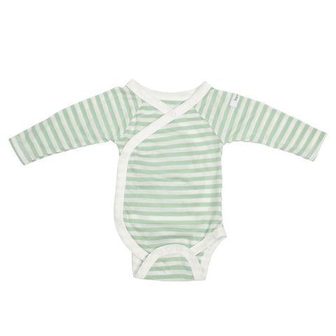 Bamboo Long Sleeve Bodysuit - Mint Green