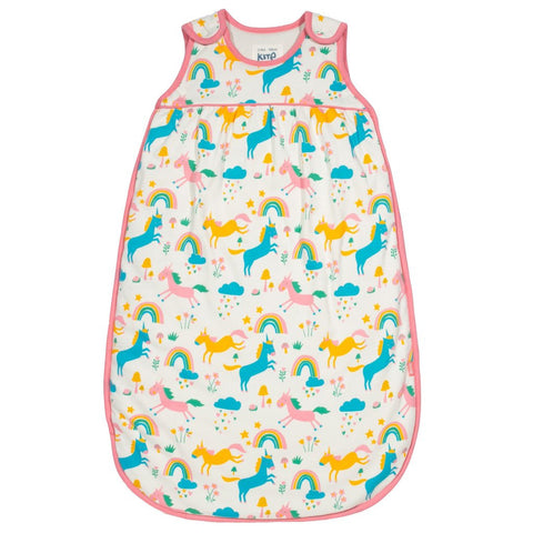 Front - Girls blue and pink sleeping bag