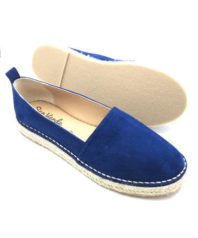 Nautical Navy Blue Espadrille