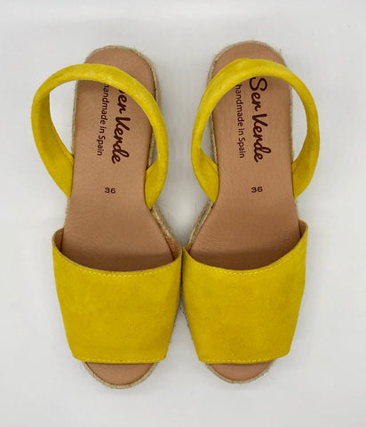 Alicante wedge-Tulipan yellow
