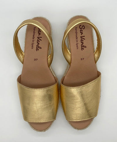 Alicante wedge-Gold