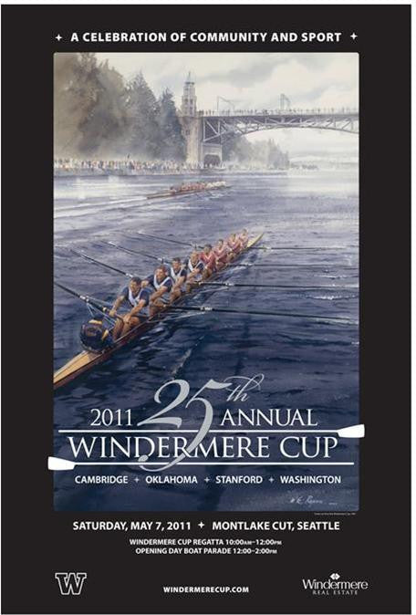 2011 Windermere Cup Poster