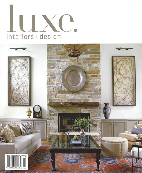 Luxe Interiors & Design Ad July/August