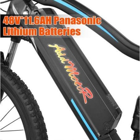 AddMotor HitHot H1 Platinum - Electric Mountain Bike - Battery