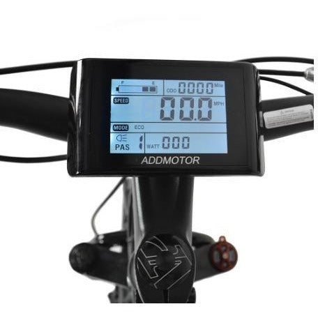 AddMotor Motan M550 750W - Fat Tire Electric Bike - Display