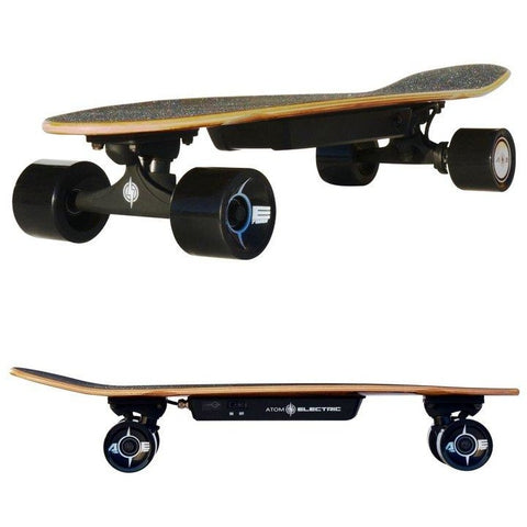 Atom Long Boards H4 Electric Skateboard - 2 Side Views