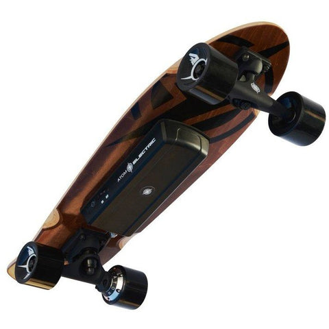 Atom Long Boards H4 Electric Skateboard - Bottom View