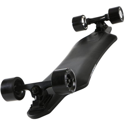 Atom Long Boards  H16D Carbon Electric Skateboard - Bottom View