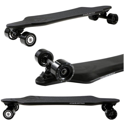 Atom Long Boards  H16D Carbon Electric Skateboard -