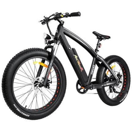 Black AddMotor Motan M560 - Sport Fat Tire Electric Bike - Front View