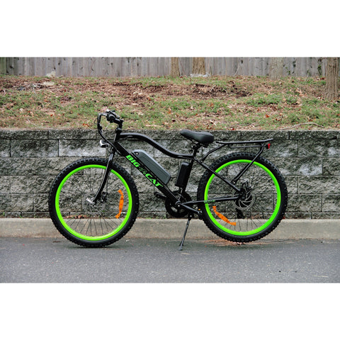 Black Big Cat Wildcat 500 - Electric Mountain Bike - Side View