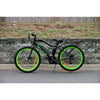 Image of Black Big Cat Wildcat 500 - Electric Mountain Bike - Side View