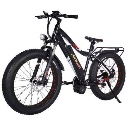 Black AddMotor Motan M5800 - Fat Tire Electric Bike - Front View