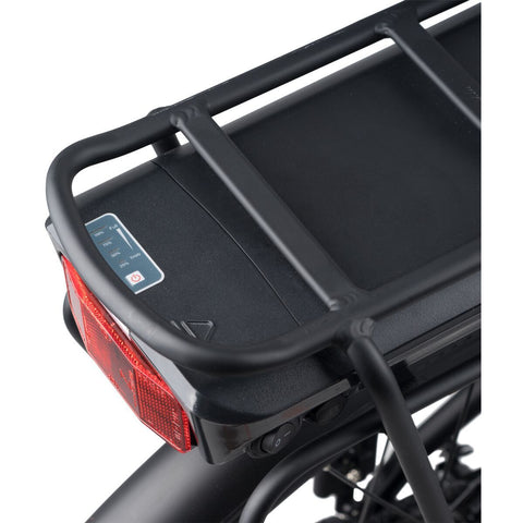 Populo Lift V2 Electric Cruiser Bike - Rear Rack