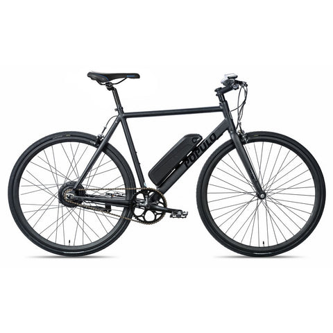 Black Populo Sport V3 Electric Commuter Bike - Side View