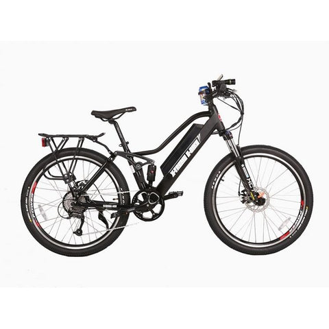 Black X-Treme Sedona 48V Electric Mountain Bike - Side View