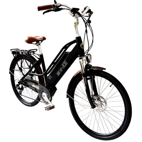 Midnight e-Joe GADIS Step Thru - Electric Cruiser Bike - Front View