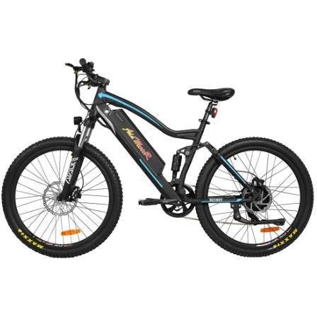 Blue AddMotor HitHot H1 Platinum - Electric Mountain Bike - Side View