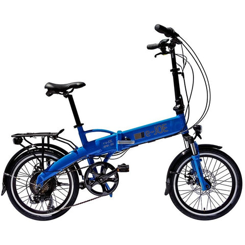 Blue e-Joe EPIK SE - Folding Electric Bike - Side View
