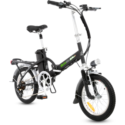 Electro Bike Alfa Plus - Folding Electric Bike - Front View