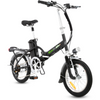 Image of Electro Bike Alfa Plus - Folding Electric Bike - Front View