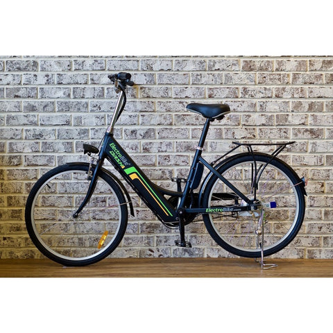 Black Electro Bike DASH - Electric Cruiser Bike - Side View