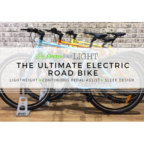 Electro Bike Light - Electric Commuter Bike - Multiple Bike Colors