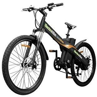 Black Electro Bike Seal 500 - Electric Commuter Bike - Front View