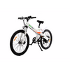Image of White Electro Bike Seal 500 - Electric Commuter Bike - Front View
