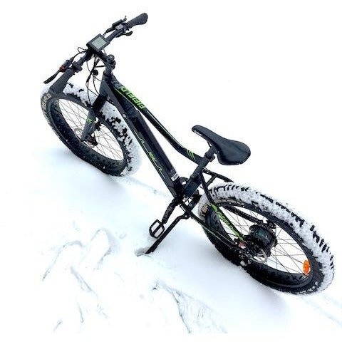 Fifield Rogue Wave - Electric Mountain Bike - In the Snow