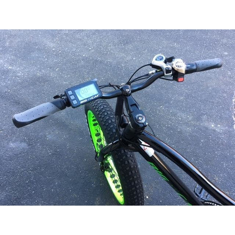 Big Cat Fat Cat XL500 - Electric Mountain Bike - Handlebars