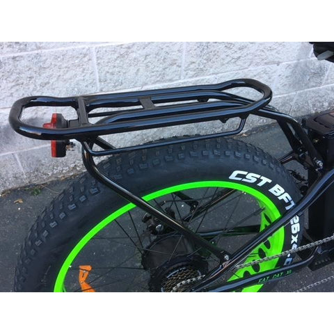 Big Cat Fat Cat XL500 - Electric Mountain Bike - Rear Rack