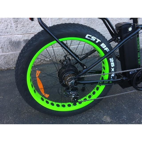 Big Cat Fat Cat XL500 - Electric Mountain Bike - Rear Wheel