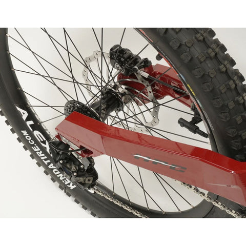 HPC Revolution M Electric Mountain Bike - Rear Wheel