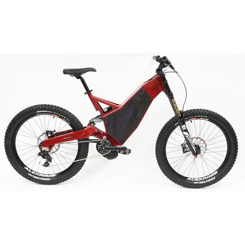 HPC Revolution M Electric Mountain Bike - Side View