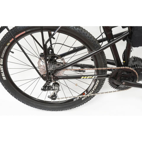 HPC Recon M Folding Electric Bike - Rear Wheel and Gears