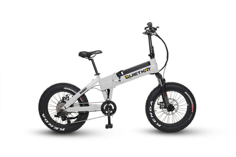 QuietKat Bandit- Folding Electric Mountain Bike